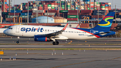 A picture of N629NK - Airbus A320232 - Spirit Airlines - © Chris Harrison1