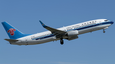 A picture of B1916 - Boeing 73781B - China Southern Airlines - © Tom Cheng