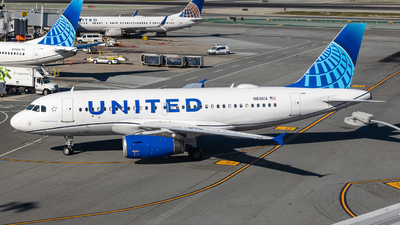 N831UA - Airbus A319-131 - United Airlines