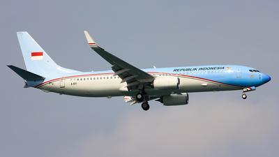 A-001 - Boeing 737-8U3(BBJ2) - Indonesia - Air Force