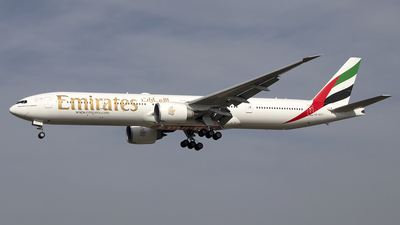 A picture of A6ECT - Boeing 77731H(ER) - Emirates - © Paul Spijkers