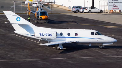 ZS-FOX - Dassault Falcon 10 - Private