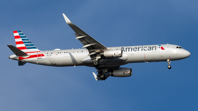 N117AN - Airbus A321-231 - American Airlines