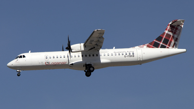 A picture of GFBXB - ATR 72600 - Loganair - © Paul Spijkers