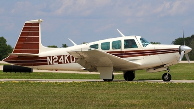 N24KD - Mooney M20F - Private