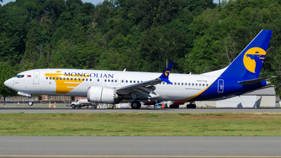 N5573B - Boeing 737-8 MAX - MIAT Mongolian Airlines