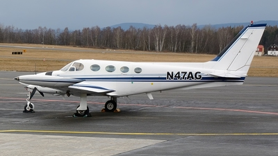 A picture of N47AG - Cessna 340 - [3400114] - © Petr Polak