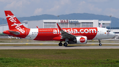 A picture of 9MAGF - Airbus A320251N - AirAsia - © Vicknesh PS