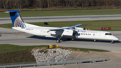 N342NG - Bombardier Dash 8-Q402 - United Express (Republic Airlines)