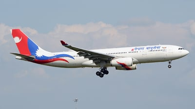 9N-ALY - Airbus A330-243 - Nepal Airlines