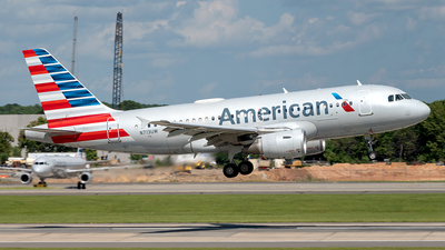 A picture of N713UW - Airbus A319112 - American Airlines - © Yan777