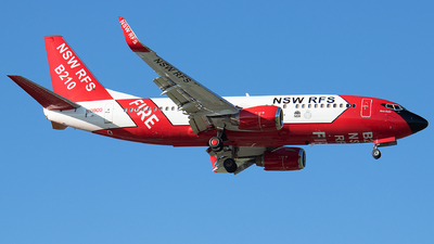 N138CG - Boeing 737-3H4 - NSW Rural Fire Service