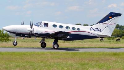 A picture of DIGIA - Cessna421C Golden Eagle 3 - [21C0623] - © Alex Herbort
