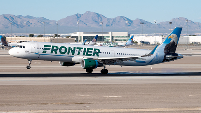 A picture of N709FR - Airbus A321211 - Frontier Airlines - © Yan777