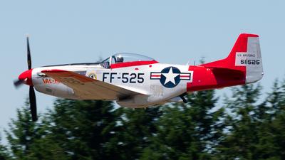 N151AF - North American P-51D Mustang - Private