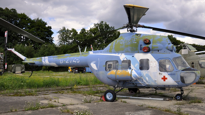 B-2745 - PZL-Swidnik Mi-2 Hoplite - Czech Republic - Police