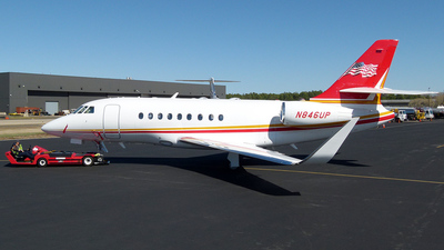 N846UP - Dassault Falcon 2000S - Private