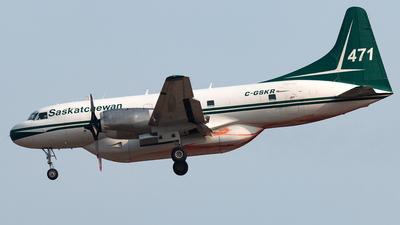A picture of CGSKR - Convair 440 Metropolitan - [509] - © Russell Hill