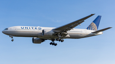 A picture of N78013 - Boeing 777224(ER) - United Airlines - © ne.planespotter