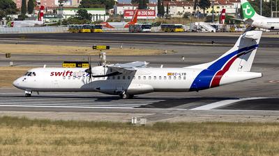EC-LYB - ATR 72-212A(500)(F) - Swiftair