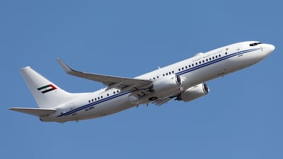A6-MRS - Boeing 737-8EQ(BBJ2) - United Arab Emirates - Dubai Air Wing