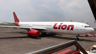 PK-LEM - Airbus A330-343 - Lion Air