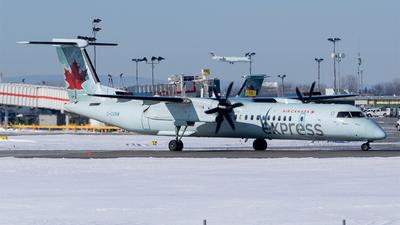 A picture of CGGNW - De Havilland Canada Dash 8400 - Air Canada - © RZ