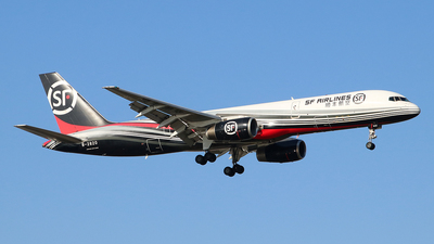 A picture of B2820 - Boeing 7572Z0(PCF) - SF Airlines - © Jerry Huan