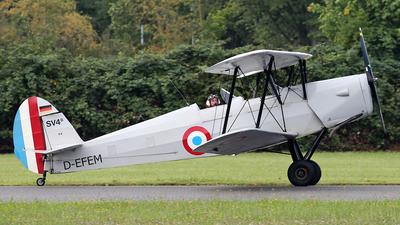 D-EFEM - Stampe and Vertongen SV-4C - Private