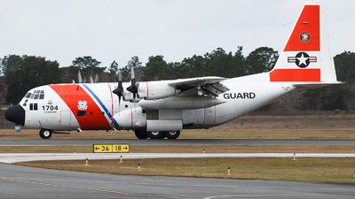 1704 - Lockheed HC-130H Hercules - United States - US Coast Guard (USCG)