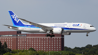 JA806A - Boeing 787-8 Dreamliner - All Nippon Airways (ANA)