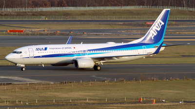 JA86AN - Boeing 737-881 - All Nippon Airways (ANA)