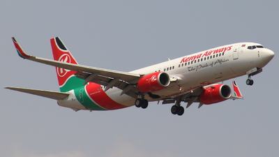 5Y-KYE - Boeing 737-8Q8 - Kenya Airways