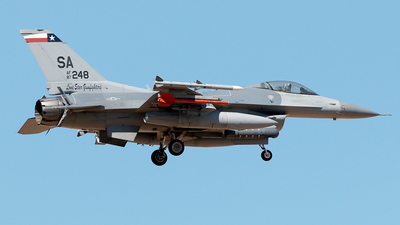 87-0248 - General Dynamics F-16C Fighting Falcon - United States - US Air Force (USAF)