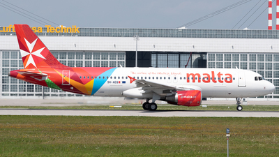 A picture of 9HAEQ - Airbus A320214 - Air Malta - © Thomas Ernst