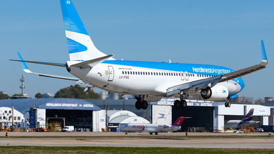 A picture of LVFXQ - Boeing 7378MB - Aerolineas Argentinas - © Nicolas Aguirre