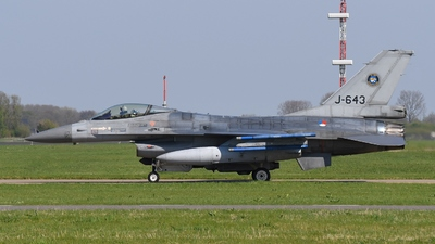 J-643 - General Dynamics F-16AM Fighting Falcon - Netherlands - Royal Air Force