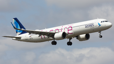 CS-TSI - Airbus A321-253NX - Azores Airlines
