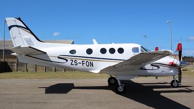 ZS-FON - Beechcraft C90B King Air - Private