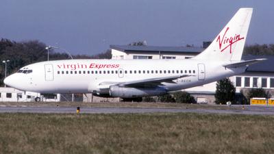 G-BECH - Boeing 737-204(Adv) - Virgin Express