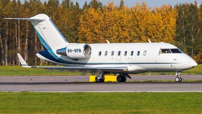 9H-SPB - Bombardier CL-600-2B16 Challenger 650 - Comlux Aviation Malta