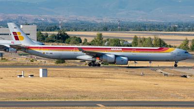 A picture of ECJNQ - Airbus A340642 - [0727] - © Enrique Rubira