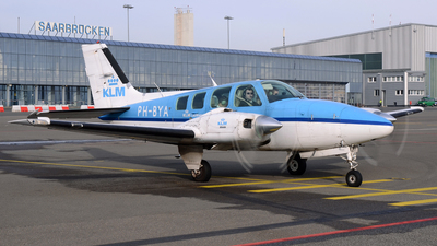 PH-BYA - Beechcraft 58 Baron - KLM Flying School