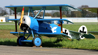 PH-EBF - Fokker DR.1 - Netherlands - Air Force Historical Flight