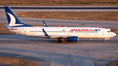 TC-JFD - Boeing 737-8F2 - AnadoluJet