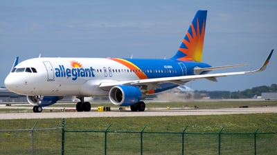 N246NV - Airbus A320-214 - Allegiant Air