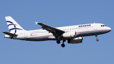 SX-DVL - Airbus A320-232 - Aegean Airlines