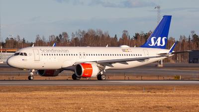 A picture of SEROS - Airbus A320251N - SAS - © Sebastian E Burmo