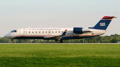 A picture of N422AW - Mitsubishi CRJ200ER - [7341] - © DJ Reed - OPShots Photo Team