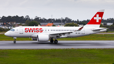 A picture of HBJBA - Airbus A220100 - Swiss - © Carlos Miguel Seabra